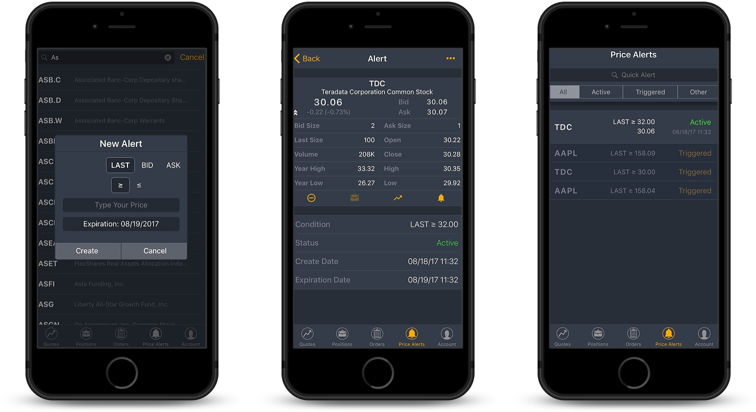 OptionsRoute Mobile Trader